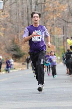 Ronald Lavine, DC running 5K