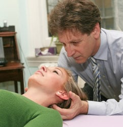 nyc chiropractor ron lavine and craniosacral therapy